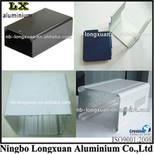 aluminum electronic extrusion enclosure metal enclosure custom aluminum enclosures