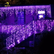 Window Curtain Icicle Lights String Fairy Light for Wedding Party Home Garden Decorations