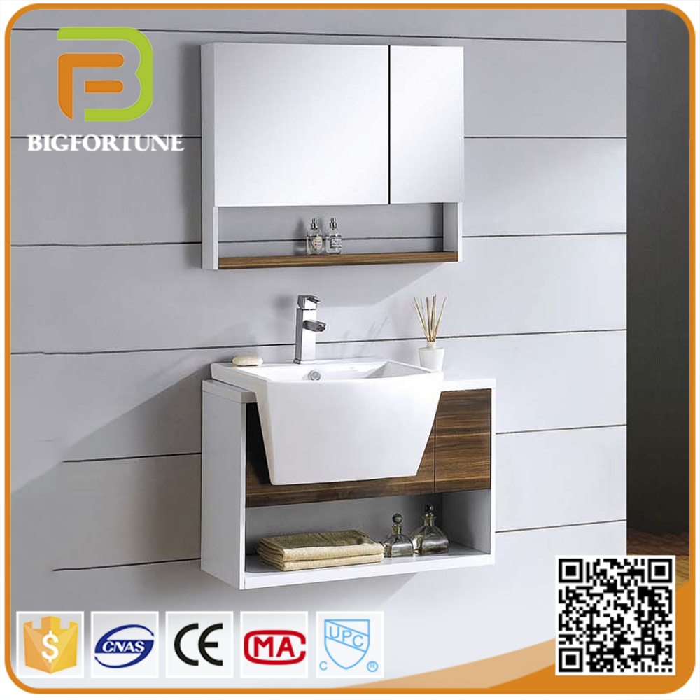 Classical waterproof mdf spanish bathroom vanity,bathroom mirror cabinet
