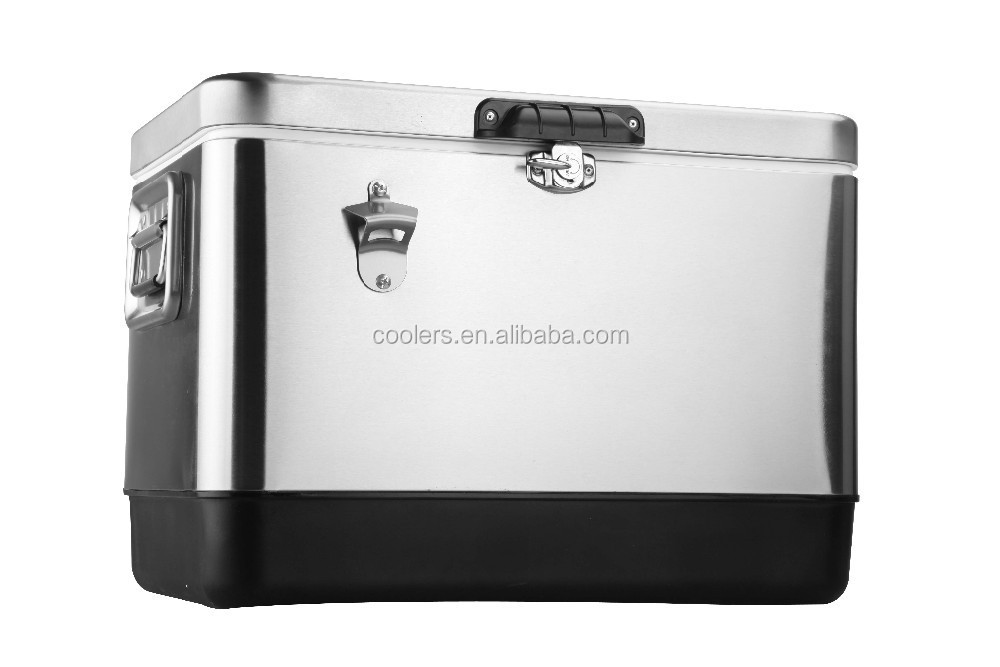 fresh meat and vegetable display cooler ice cooler with bottle opener