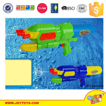 Hot selling items 38cm plastic small water gun toys for kids