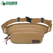 Men Multifunctional Canvas Waist Bags Musette Bags