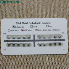 Denrum orthodontic products Dental MIM orthodontic edgewise brackets