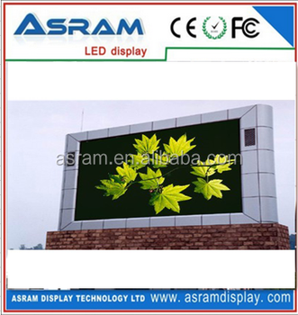 CE, RoHS approved outdoor P10 led advertising display with high definition, high refresh hot sale P10 outdoor advertising led di
