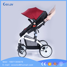 Luxury Foldable Sliding Antique Baby Carriage 3 In 1