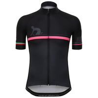 ODM/OEM custom quick dry polyester cycling jersey for men 2016