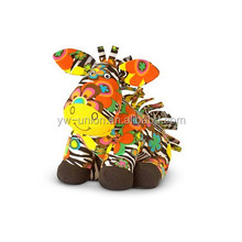 Horse zebra toy 2016 hot sales factory price sliding horse toy colorful