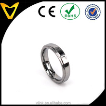 2mm 4mm tiny tungsten ring for foot finger custom tungsten toe ring fashion foot finger ring