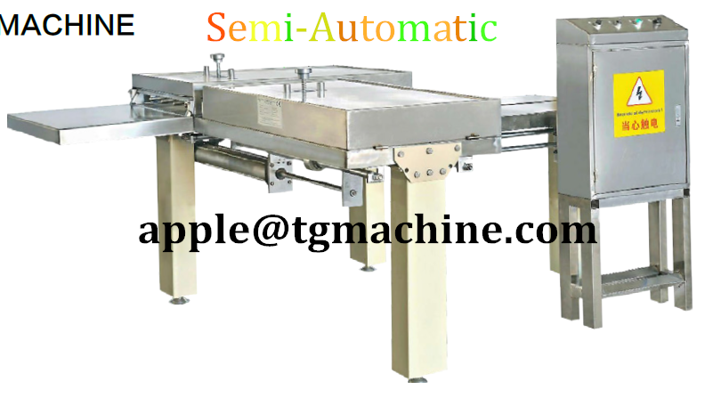 mini nougat cutting machine or cereal bar or wafer biscuit or hard candy cutting machine