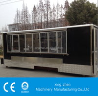 The best selling Street food cart with CE