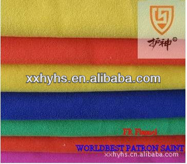 more colour 100% Cotton Flame Retardant Knitted Fabric for Shirt or Sheet