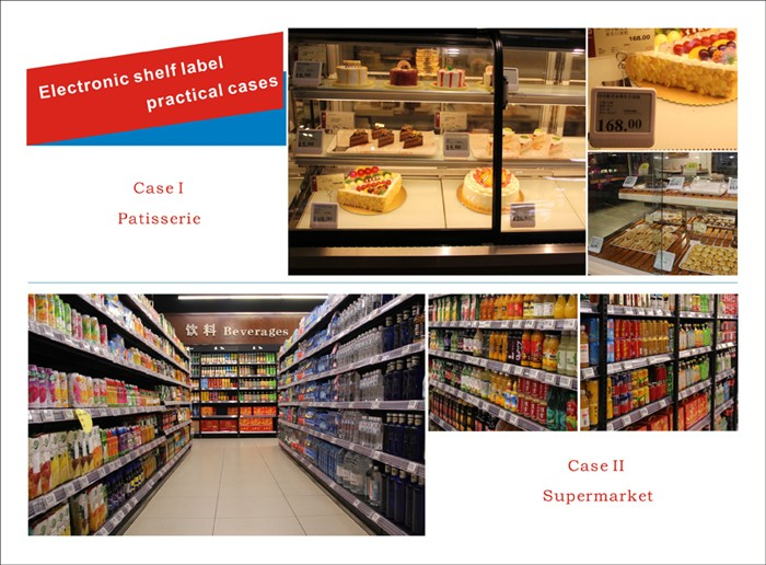 supermarket shelf lcd display