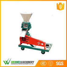 Capacity 40-50 kg/h cattle poultry fish animal feed pelleting making mill machine for fish feed
