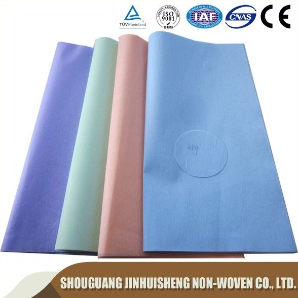 polyester/viscose chemical bond washroom used cleaning wipes, all purpose clothes