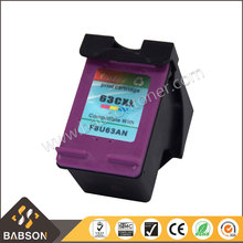 Hot sale products Compatible printer ink cartridge 63XL for HP 4652 printer