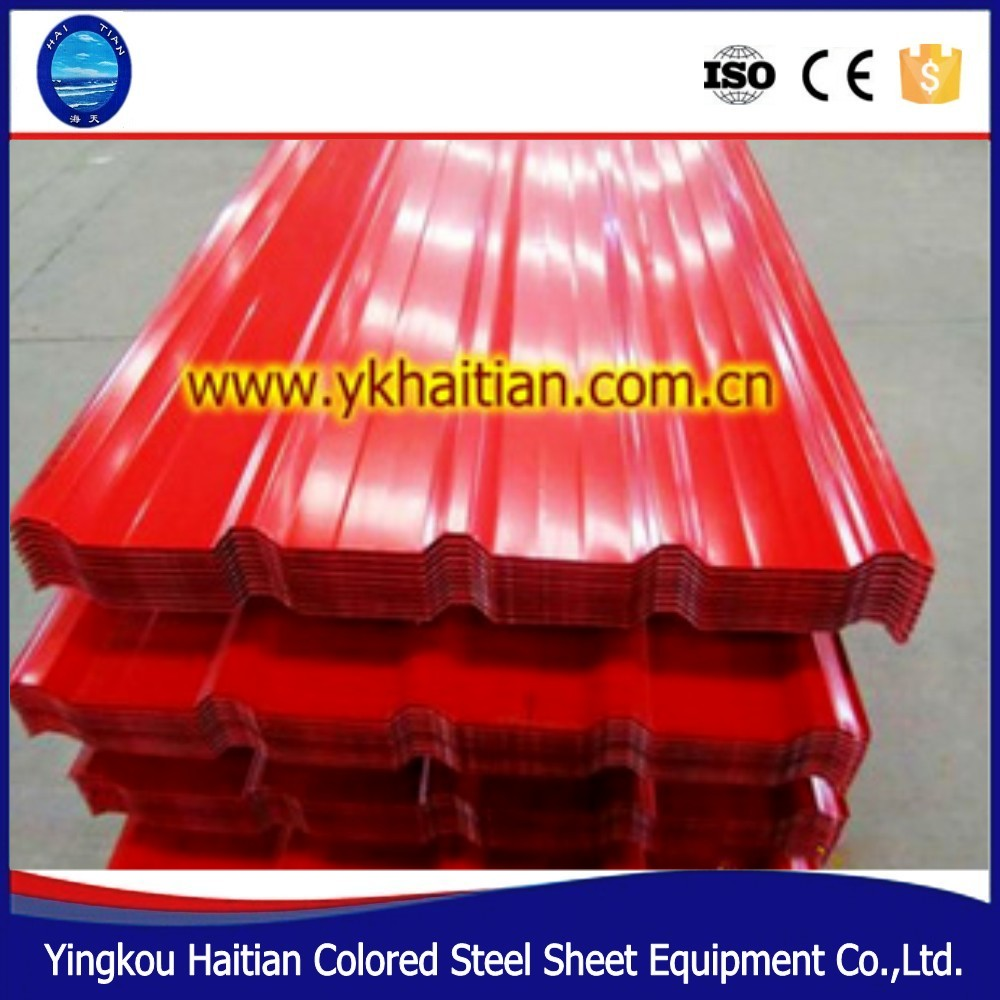 Lowes Metal Roofing Sheet Price Color Coated Corrugated Roofing Sheet , Metal  Roofing