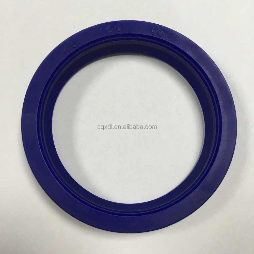 For DZ UN 45 55 10 PU hydraulic oil seal for fork truck Y type cylinder