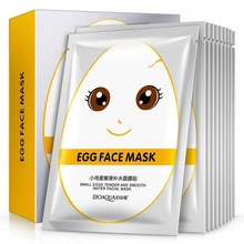 Hot sale small egg tender and smooth water facial mask in china