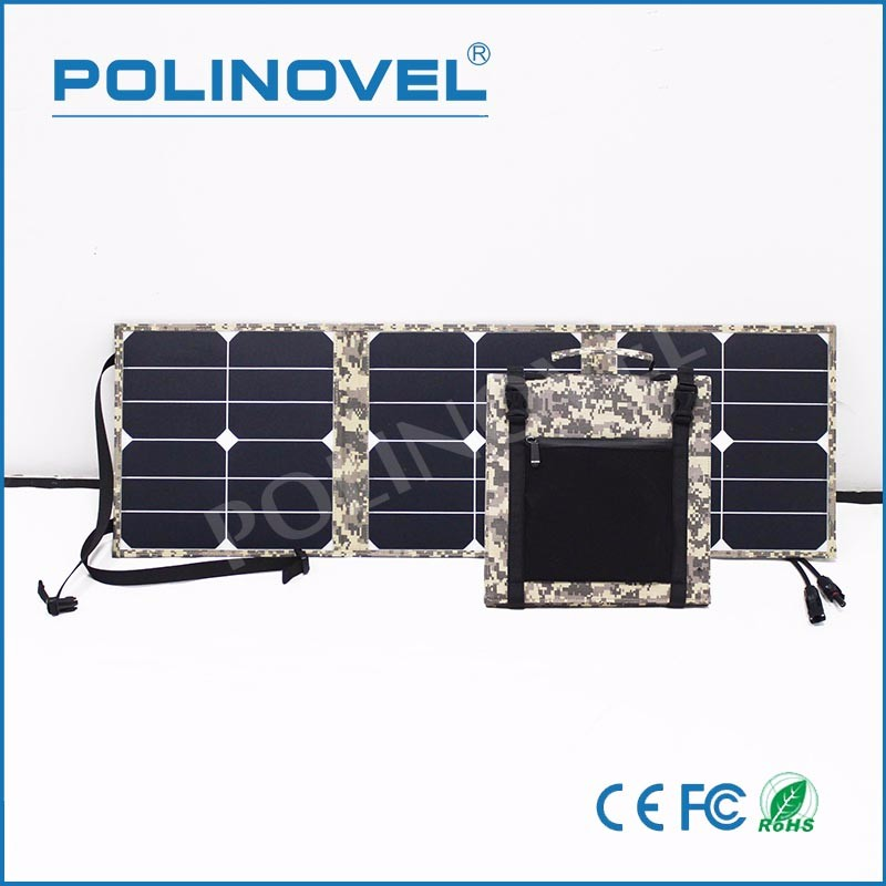 Waterproof material portable folding design solar panel
