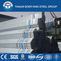 widely used galvanized steel pipe for liquid delivery,fence post, balcony raiing,green house frame and irrigation etc.