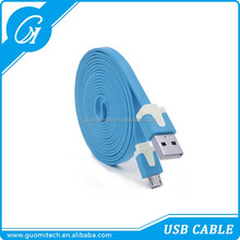 2016 in stock MFI certified data cable flat noodle data cable