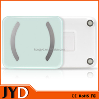 JYD-FIT01 New Precision Digital impact-resistant tempered glass with auto-calibrates and StepOn Bathroom Smart body scale