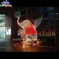 New holiday Outdoor decoration Elephant led motif lights