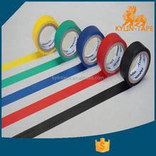 Colorful Adhesive PVC Electric Insolation Tape with natural rubber