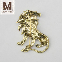 Metal Lion Badge Lapel Pin Wholesale Lion Brooch