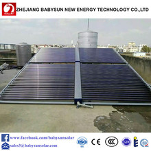 vacuum tubes solar collector/solar water heating system for home use, hotel