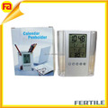 ZL 600130 hot sale cheap acrylic clock crystal penholder