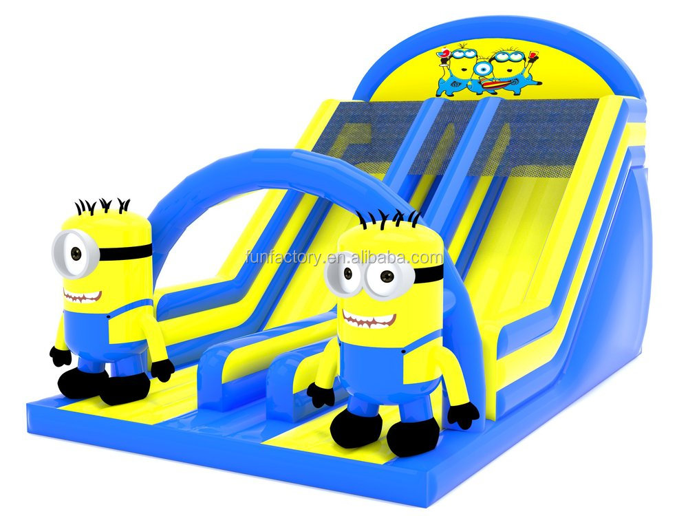 Despicable Me inflatable Minions slide , Christmas inflatable ...
