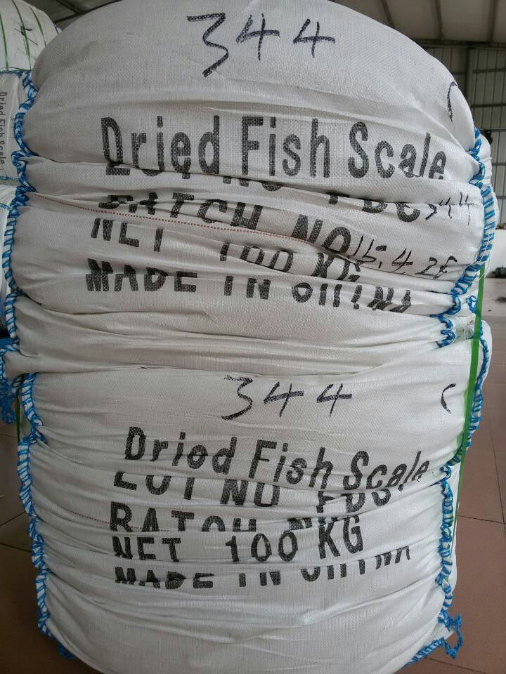 China raw metrial for made collagen factory price dried for Fish scale coke prices