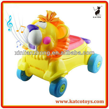 HOT Sales 2 in 1 Stride-to-Ride Lion Children Ride on toys animal