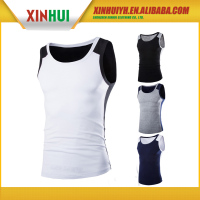 High quality cheap custom men's stringer tank top