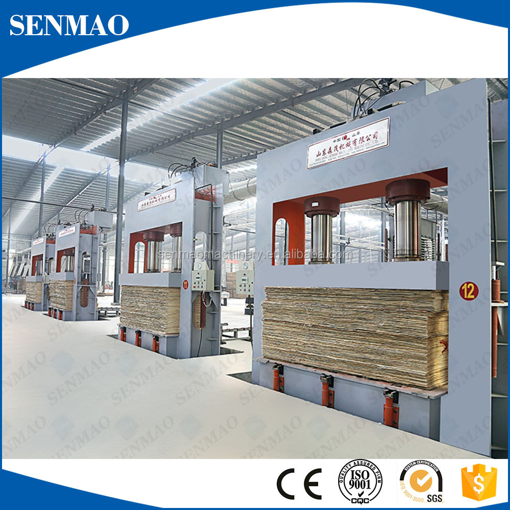 50T 60T Woodworking machinery plywood cold press machine hydraulic cold press with CE certificate