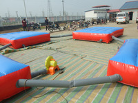 inflatable sports trampoline arena for adults and children