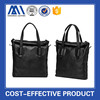 Poplular fashion black man bag bag leather tote bag