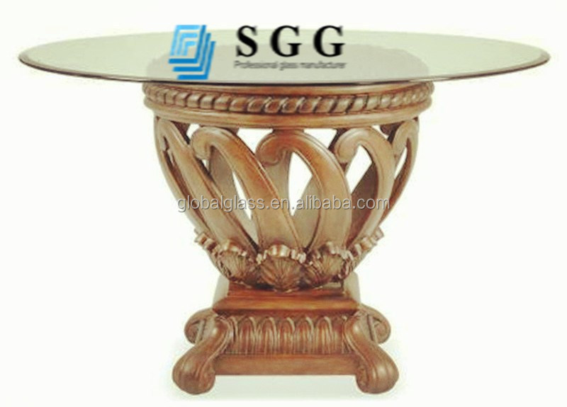 competitive price best quality tempered glass table