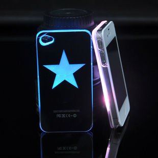 2012 Fashion New glow in the dark mobile phone case for iphone 4 4S