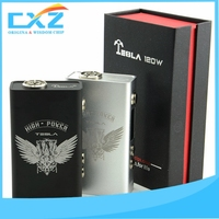 Generous appearance tesla electronic cigarette with two 18650 batteries