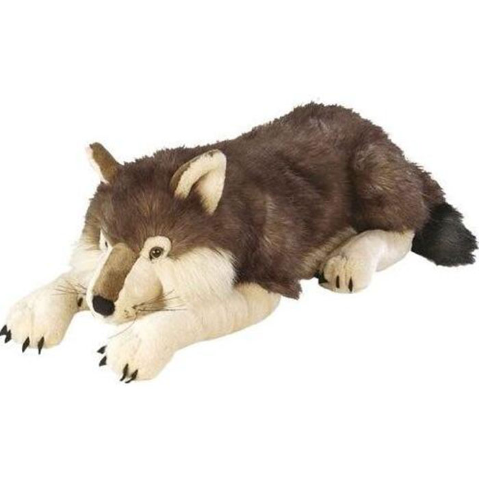 Anti Bcateriall and Anti Mite Fibers wolf russ stuffed toys for baby partner