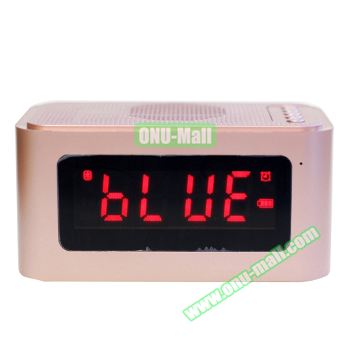 Private Label X16 Handsfree FM Bluetooth Stereo Speaker, Shenzhen Factory Speaker Bluetooth with Alarm Clock