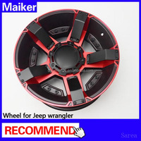 Hot sale wheel for Jeep Wrangler JK 2007+ rims for jeep wrangler auto parts