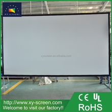 XYSCREEN 250 inch Cheap price fast folding projection screen film easy assembly projector film screen