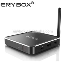 Aluminum Casing Amlogic S805 Quad Core Kodi android 4.4 mxq M12 TV Box