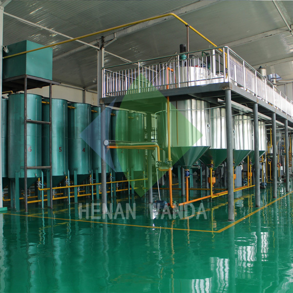 Smart soybean oil refining machine without deodorization
