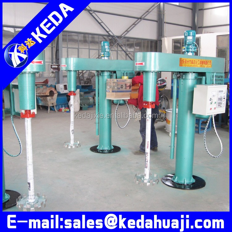 Hydraulic lift disperser automatic ink mixer with EX proof