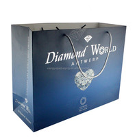 Custom Wholesale Fancy Cheap Laminated Shopping Paper Bag