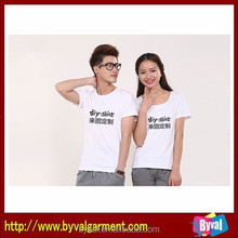 Wholesale Blank T-shirt for Heat Press Cotton,Custom Print O Neck Blank T-shirt for sublimation,Top Quality and Inexpensive